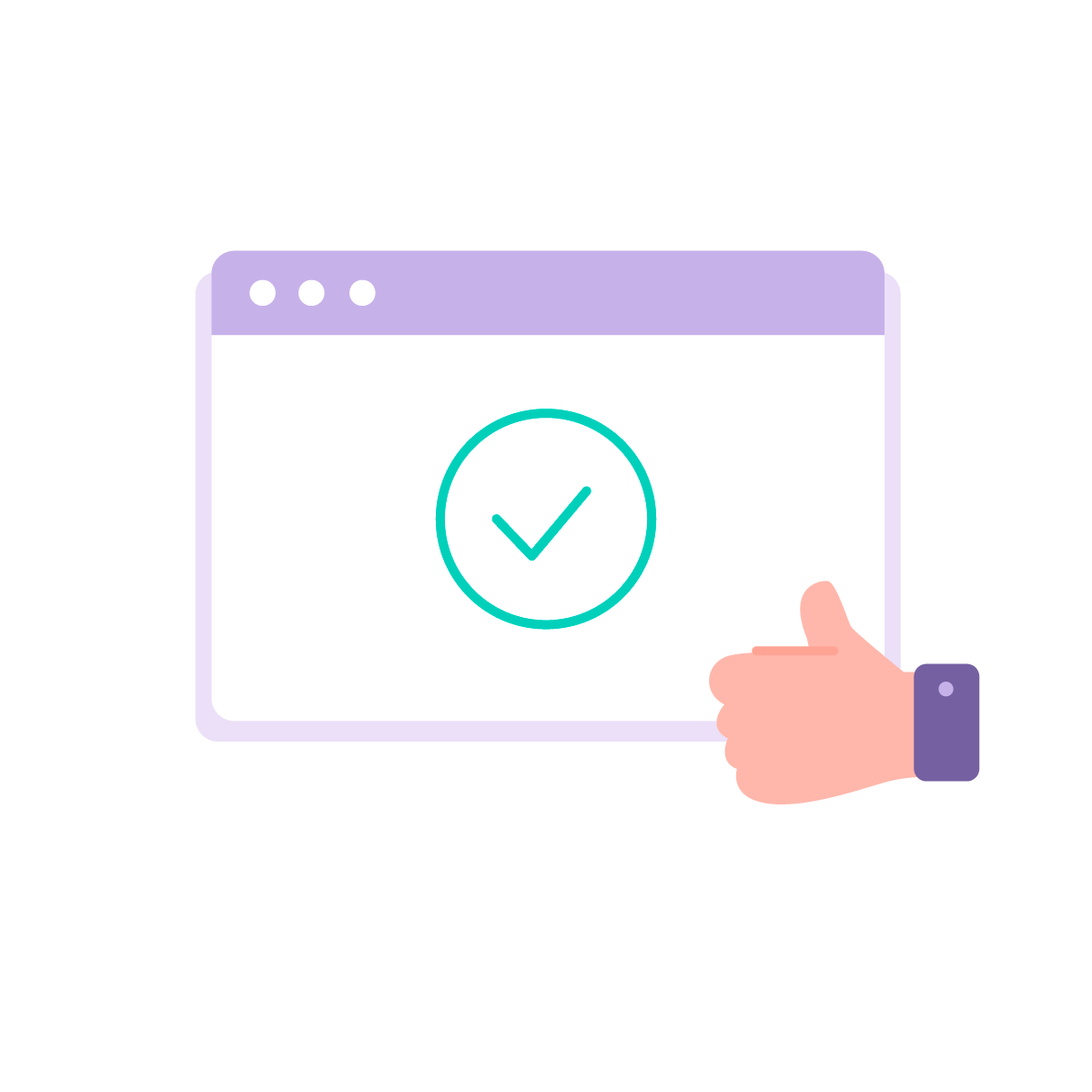 Thumbs up to easy online onboarding