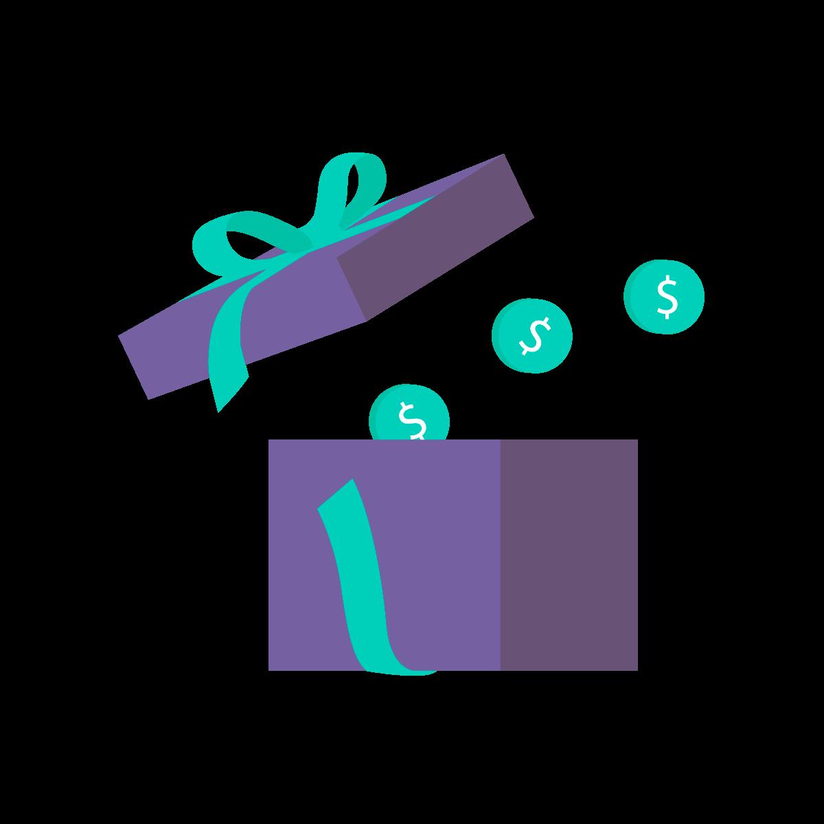 Enjoy the gift of more rewards