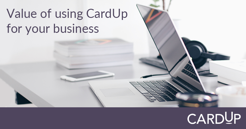 5 benefits of using CardUp for your business