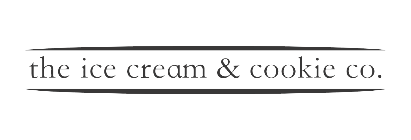 the ice cream & cookie co Logo